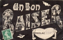 """09 USSAT LES BAINS  ORNOLAC """"Un Bon Baiser"""" Multivues - Francia"""