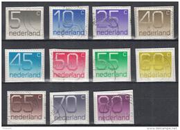Nederland - 7.500 Zegels – Cijferzegels – Type Crouwel - O - Onafgeweekt/op Fragment - Timbres