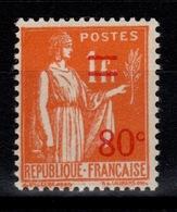 YV 359 N** Paix Surchargé - France
