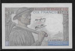France 10 Francs Mineur - Fayette N°8-5 - SUP - 1871-1952 Anciens Francs Circulés Au XXème
