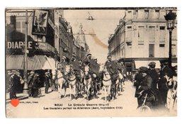 36133-ZE-59-DOUAI-La Grande Guerre 1914-18-Les Goumiers Partant En éclaireurs (Aout,Septembre 1914)--------animée - Douai