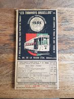 "Plan ""Les Tramways Bruxellois"" Exposition-Tentoonstelling 1935 - E. Stockmans - Europe"