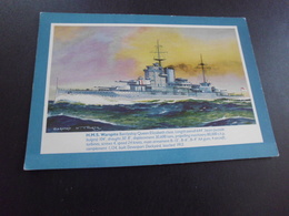 HMS WARSPITE ....SIGNE BERNARD ..N.CHURCH - Warships