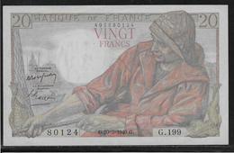 France 20 Francs Pêcheur - Fayette N°13-14 - SPL - 1871-1952 Anciens Francs Circulés Au XXème
