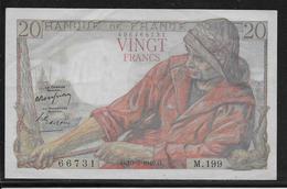 France 20 Francs Pêcheur - Fayette N°13-14 - SUP - 1871-1952 Anciens Francs Circulés Au XXème