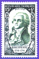 Représentation De Timbre Robespierre 1758-1794 - Timbres (représentations)