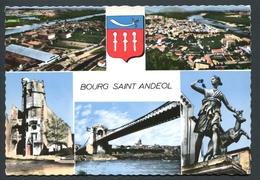 CPSM Bourg-Saint-Andéol - Multi-vues - Edit. Cellard - Voir 2 Scans - Bourg-Saint-Andéol