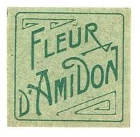 étiquette Fleur D'Amidon ( Parfum, Beauté ) - Etiquettes