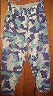 "Old Czechoslovakian Paratrooper Pants - Pattern Vz60 Mlok - ""Salamander"" Camouflage - Uniformes"