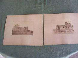 2 Photos Vers  1884, Alès, Château De Portes Vers La Vernarède - France