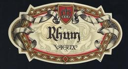 étiquette   Rhum  Vieux  Imp MVDH - Rhum