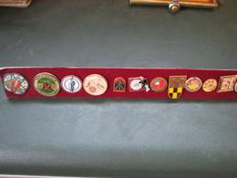 Lot De 45 Pins .theme Sport. Tir - Badges