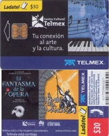 TARJETA TELEFONICA DE MEXICO (CENTRO CULTURAL TELMEX). (140) EL HOMBRE DE LA MANCHA. - México