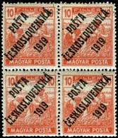 Czechoslovakia. Sc #B96. Mint Block Of Four. **/* - Czechoslovakia