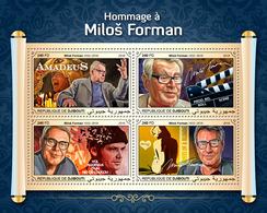 "DJIBOUTI 2018 - M. Forman ""Amadeus"" Mozart. Official Issue - Musique"