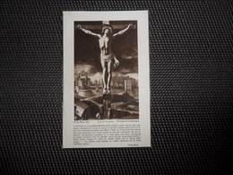 Doodsprentje   ( C 653  )  Brutsaert / Ollevier   - Watou   1939 - Overlijden