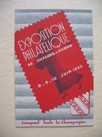 CPA  Exposition Philatélique De Chalons Sur Marne Juin 1935  N° 601 - Châlons-sur-Marne