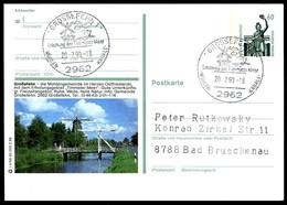 84546) BRD - P 139 - T4/56 - Ortsgleich OO Gestempelt - 2962 / 26629 Grossefehn, Windmühle - [7] West-Duitsland