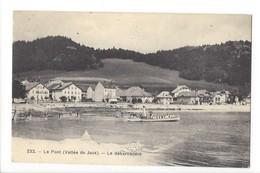 20440 - Le Pont Vallée De Joux Le Débarcadère Bateau - VD Vaud
