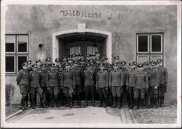 ! Altes Foto 1942 Lehrgang Für Luftbildwesen In Neubiberg Bei München, Bayern, Militaria 2. Weltkrieg, Deutsche Soldaten - 1939-45