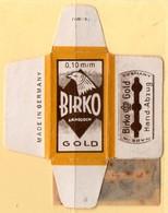 Rasage. Razor Blade. Lame De Rasoir. Lame Birko. Made In Germany. - Lames De Rasoir