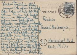 BiZone 40 I EF Auf AK: Westerland/Sylt Mit Stempel: Westerland 21.7.1948 - Bizone