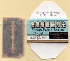 Rasage. Razor Blade. Lame De Rasoir. Lame Flying Eagle Brand. Made In China, Shangai. - Lames De Rasoir
