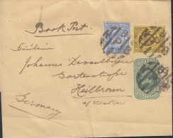 GROSSBRITANNIEN Streifband S 11 Mit ZFr., Gestempelt - 1902-1951 (Kings)