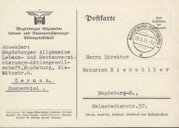 SBZ  Orts-Postkarte  Ohne Gebühr Bezahlt, Gestempelt: Magdeburg 18.6.1945 - Zone Soviétique