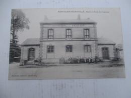 CPA 27 SAINT AUBIN D'ecrosville  Ecole - Saint-Aubin-d'Ecrosville