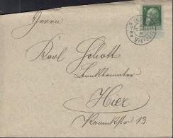 BAYERN 77 I Auf Brief, Mit Stempel: Ludwigshafen 10.MÄR 1911 - Bavaria