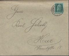 BAYERN 77 II Auf Brief, Mit Stempel: Ludwigshafen 11.12.13 - Bavaria