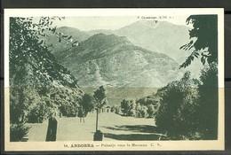 ANDORRA- CARTE POSTALE14. C.S. IMPREMERIE M. BASUYAU & C. TOULOUSE (P.21) - Andorra