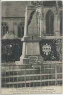 Vatteville-la-Rue-Environs De Caudebec En Caux-Le Monument-L'Église (Légère Pliure Bas Au Centre,voir Scan) (CPA) - Sonstige Gemeinden