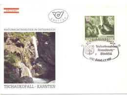OSTERREICH  1988 WATERFALL FDC    (LUGL180023) - Altri