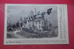 Cp Chateau Des Couvertures Ancien Chateau De Mesnil Guillaume Acheté Par Charles Humbert - Satiriques