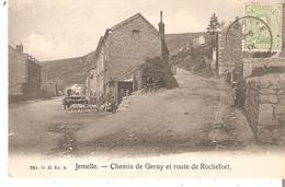 C.P. De JEMELLE - Chemin De Gerny Et Route De Rochefort Du 31/8/19 Vers France - - Belgien