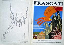Fascicolo Turistico Frascati Anni '30 - Vieux Papiers