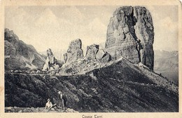CINQUE TORRI (BL) - E - F/P - V: 1937 - Italia