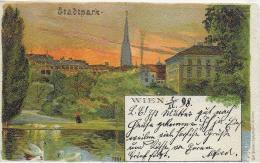 AK 0014  Wien - Stadtpark / Karl Stückers Kunstanstalt Um 1898 - Wien Mitte