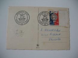 Carte  Premier Jour  Musée De Cluny Bimillénaire De Paris 1951  N° 906 - Museen