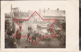 CP Photo Octobre 1917 VIVAISE (près Laon) - Soldats Allemands (A199, Ww1, Wk 1) - France