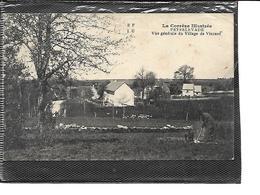 19-PEYRELEVADE-(Sornac)-VINZAN-Une Vue Generale Du Village-Jardinier Au Travail - France