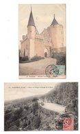 Aubusson. Chateau Du Fot. Route De Limoges. 4 CP - Aubusson