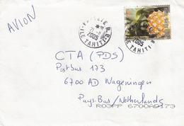 Fr Polynesie 2005 Papeete Ananas Pineapple Fruit Cover - Brieven En Documenten
