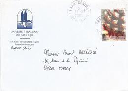 Fr Polynesie 2005 Faaa Ananas Pineapple Fruit Cover - Brieven En Documenten