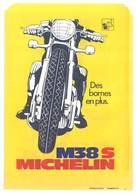 Pochette Papier Pneu Michelin Bib, Moto / Vélo De Course - Publicités