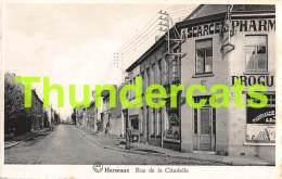 CPA MOUSCRON HERSEAUX RUE DE LA CITADELLE - Moeskroen