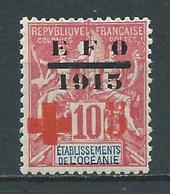 OCÉANIE 1915/16 . N° 39 . Neuf * (MH) . - Neufs