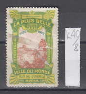 40K8 / 1922 -7 September 1822 Independence Brazil , LA PLUS BELLE VILLE DU MONDE - Rio De Janeiro BEACH , CINDERELLA - Cinderellas